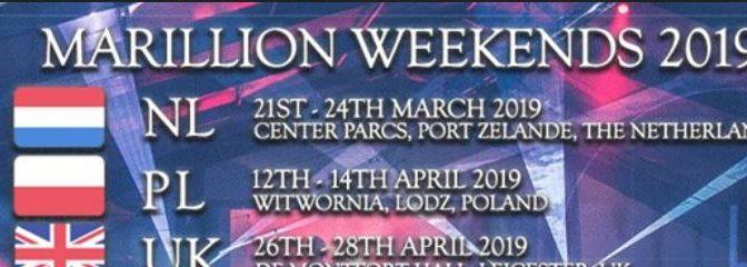 Weekends 2019: Webseite veröffentlicht