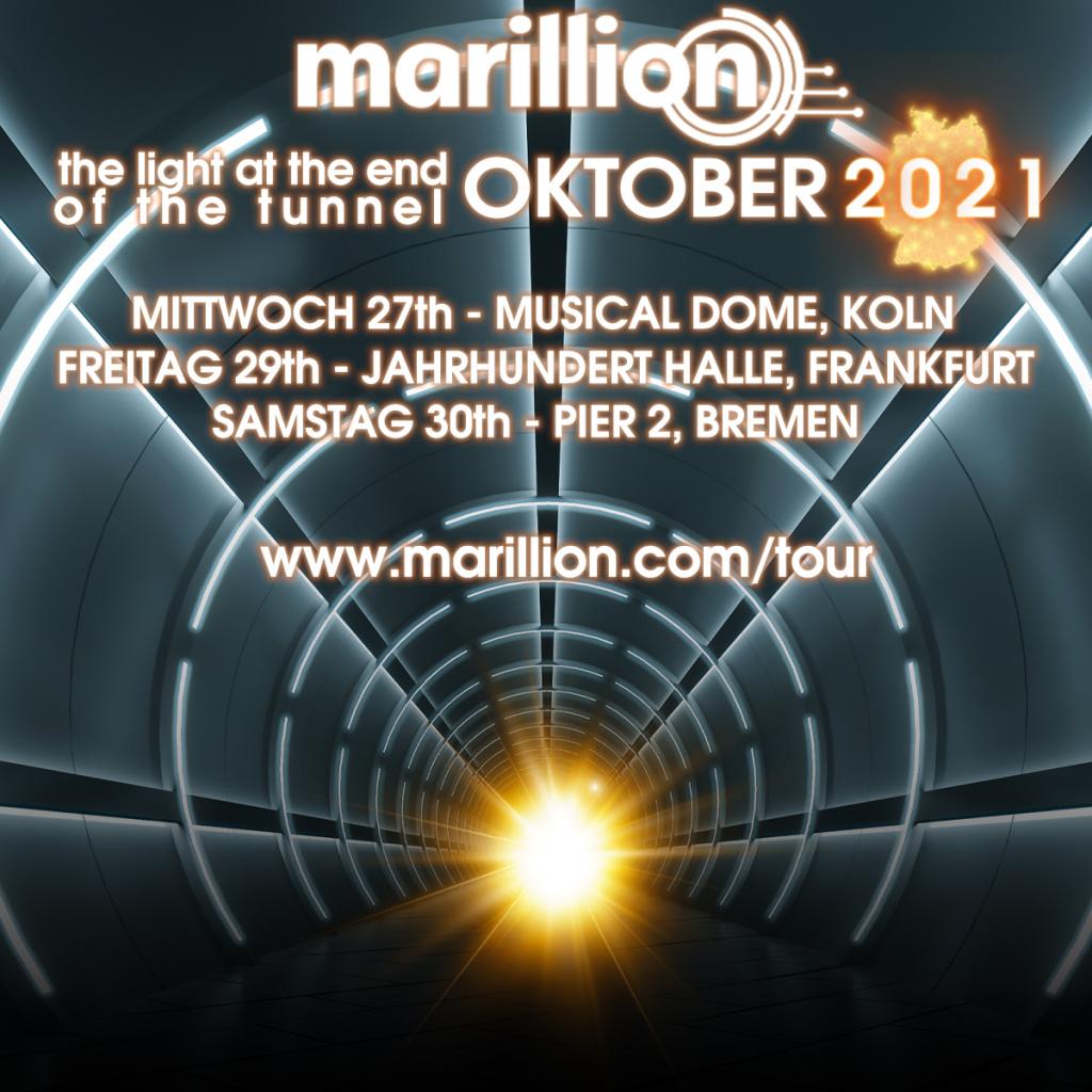 Marillion-Tour 2021 D